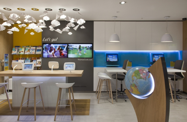 Thomas cook store at lakeside shopping centre by wanda for Interior design agency