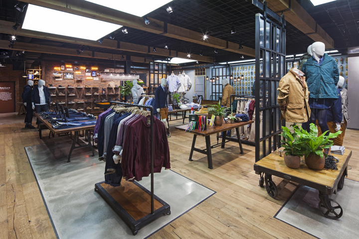 187 Timberland Flagship Store By Dalziel Pow London Uk