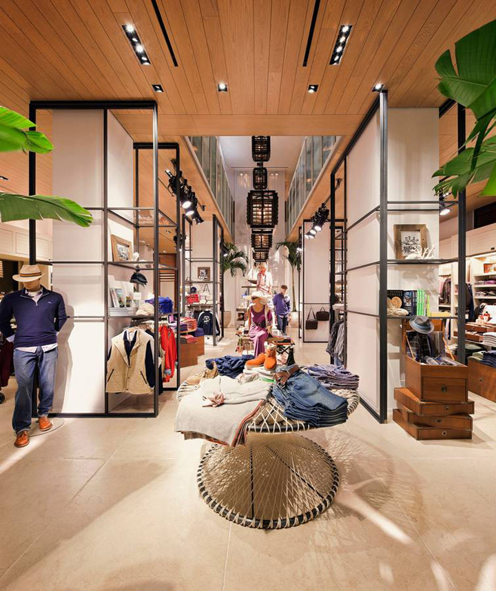 Where Do Interior Designers Shop: » Tommy Bahama Store By Michael Neumann Architecture, New