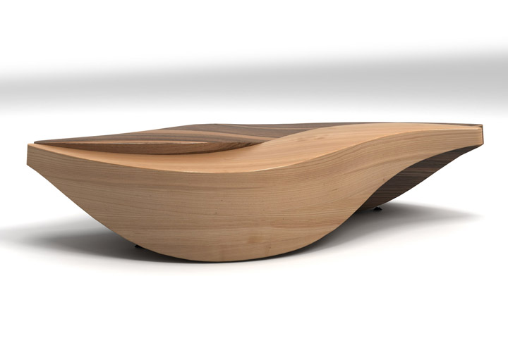 Unique Wooden Table By Lubo Majer Retail Design Blog