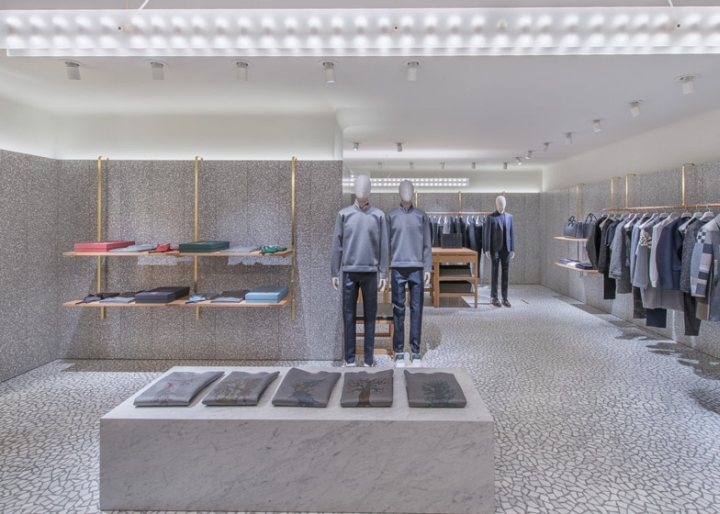 Valentino flagship store by David Chipperfield, New York