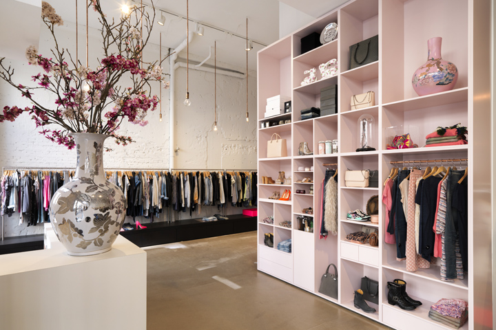 Judith Van Mourik Has Completed The Interior Of Multibrand Fashion Store Zola Juxtaposes Masculine And Feminine Elements