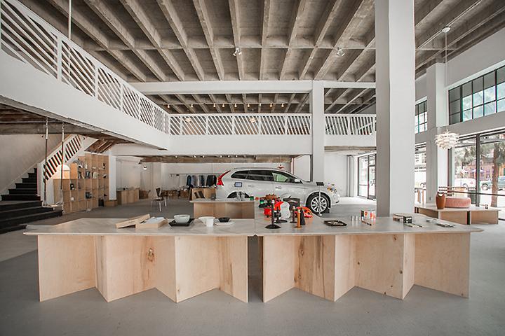 Pop up retail design blog for Nordic design shop