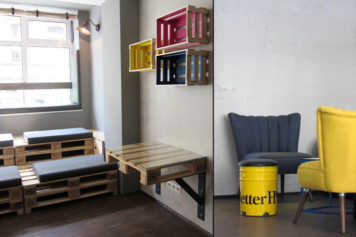 Baxpax downtown hostel by julia kosina berlin germany for Decor do hostel