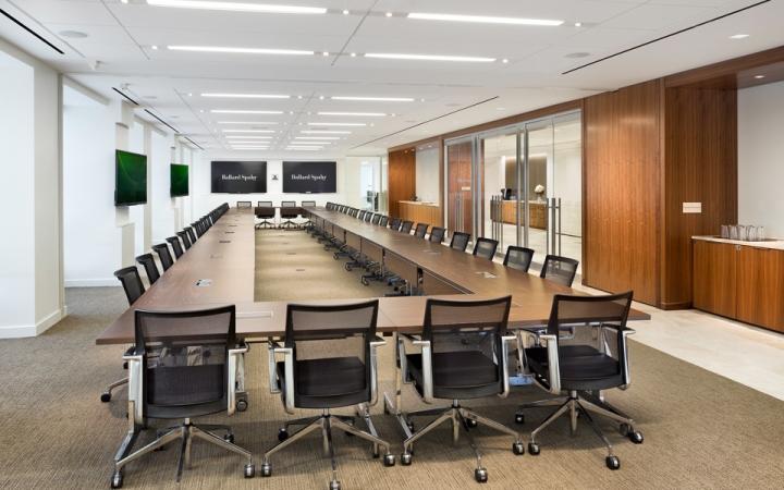 Ballard spahr headquarters by francis cauffman philadelphia pennsylvania Philadelphia interior design firms