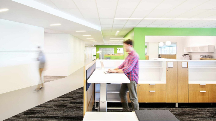 Exhibition Stand Design Northern Ireland : Bayer healthcare headquarters by gensler whippany new