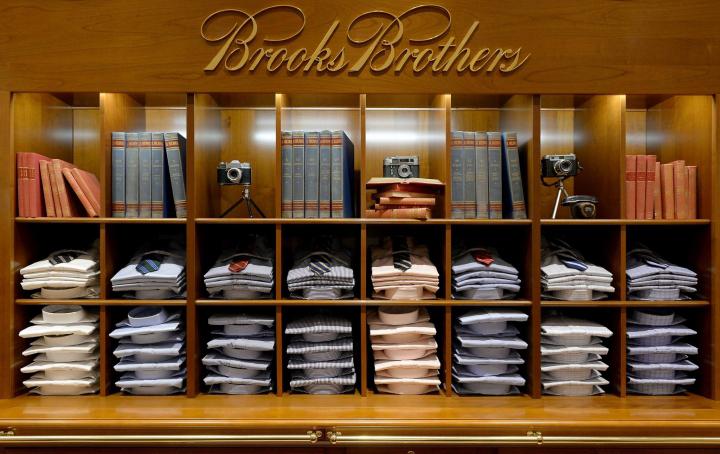 罗马尼亚Brooks Brothers精品商务男装店设计