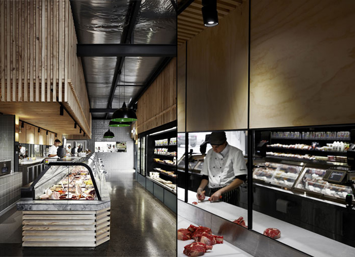 墨尔本–澳大利亚Cannings生鲜店设计