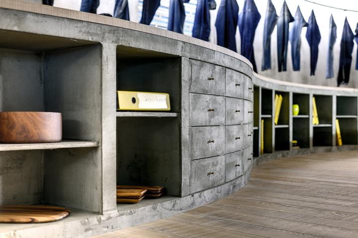 土耳其伊斯坦布尔-Denim R & D 牛仔裤专卖店设计