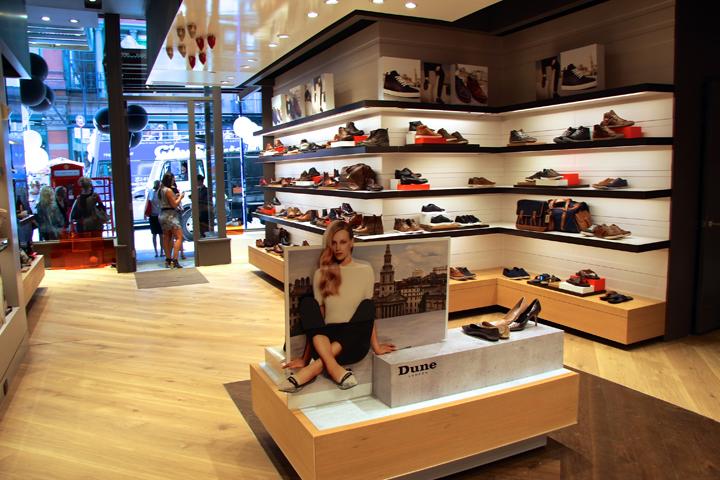 美国-纽约市-Dune London鞋店设计