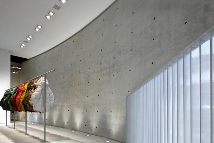 187 Duvetica Showroom By Tadao Ando Milan Italy