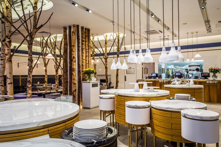 Ethos restaurant by i am london uk retail design
