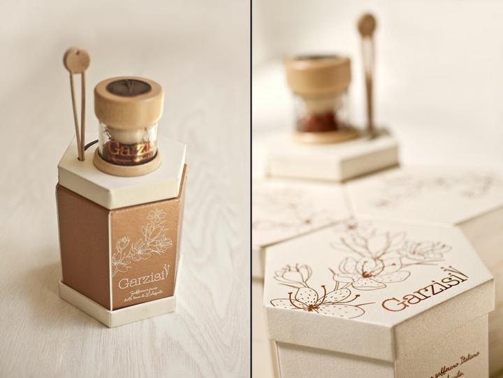Garzisi Zafferano branding packaging by Brandlore 08 - بسته بندی زعفران با ظاهری حیرت آور : نمونه بسته بندی زعفران