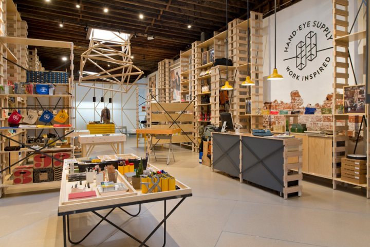 Hand Eye Supply Store By Laurence Sarrazin New York City