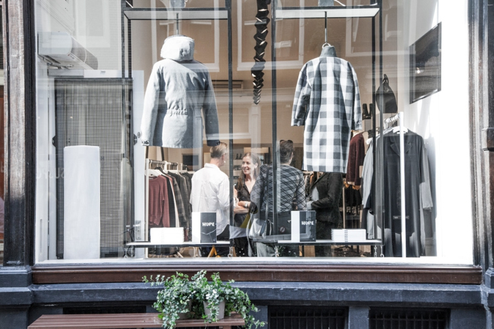 Hope clothing store