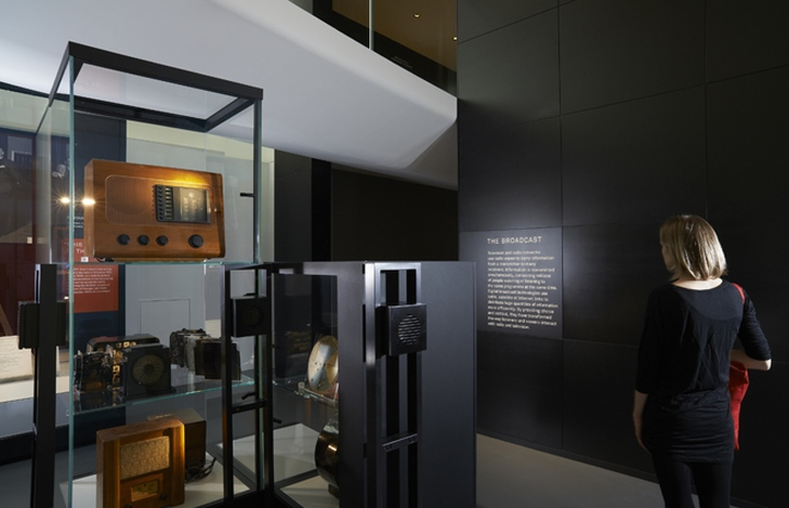 information age gallery at science museum by universal design studio london uk retail. Black Bedroom Furniture Sets. Home Design Ideas