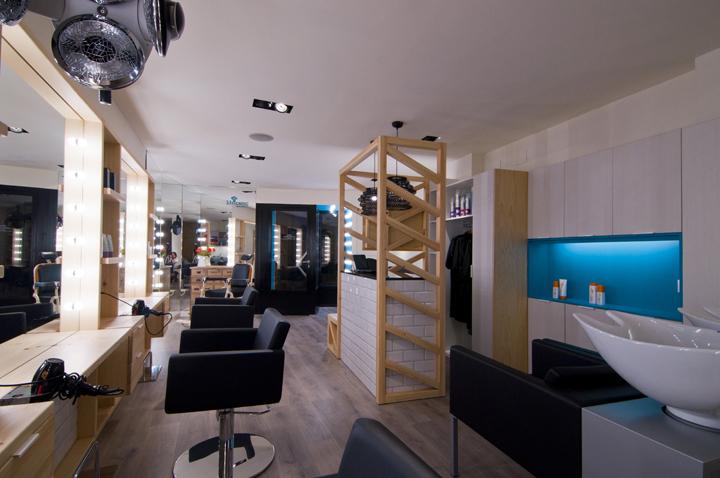 西班牙Llorenç 理发店设计