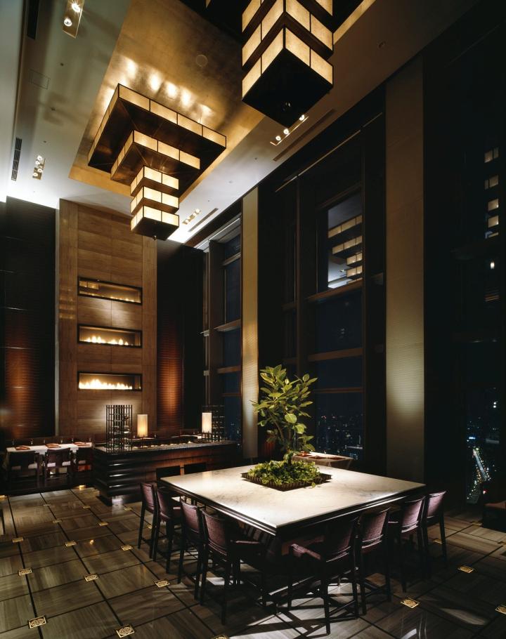 Mandarin oriental tokyo hotel by a n d tokyo japan for Design hotel japan