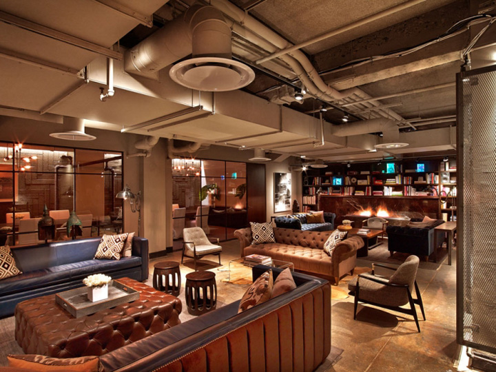 Neuehouse Office By Rockwell Group New York City 187 Retail