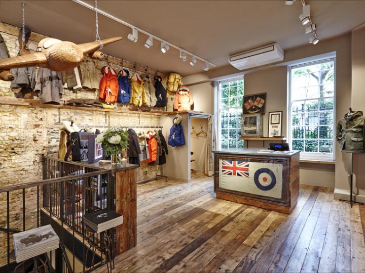 Nigel Cabourn store London UK Retail Design Blog