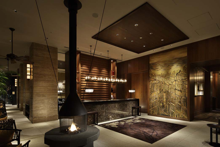Oriental hotel by a n d kobe japan retail design blog for Design hotel japan