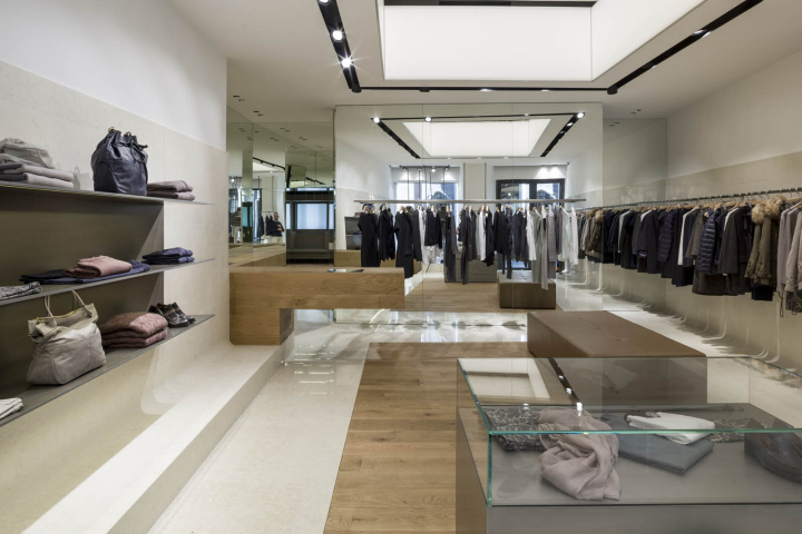 Peserico Flagship Store By C Amp P Architetti Rome Italy