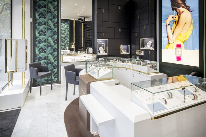 Jewellery retail design blog for Showroom cuisine paris