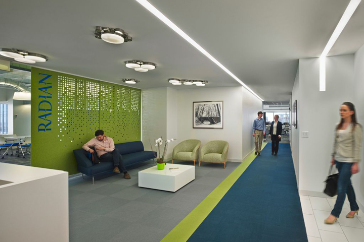Radian office by nelson philadelphia us retail design for Office design companies