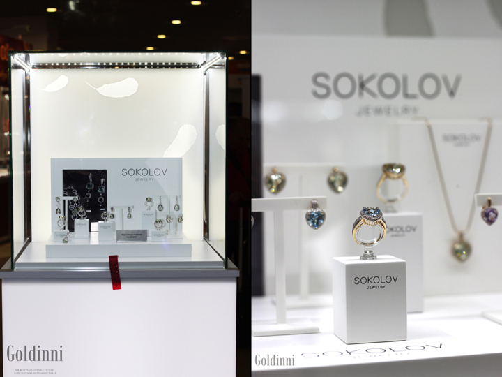 187 Sokolov Jewelry Window Dressing At Junwex By Goldinni