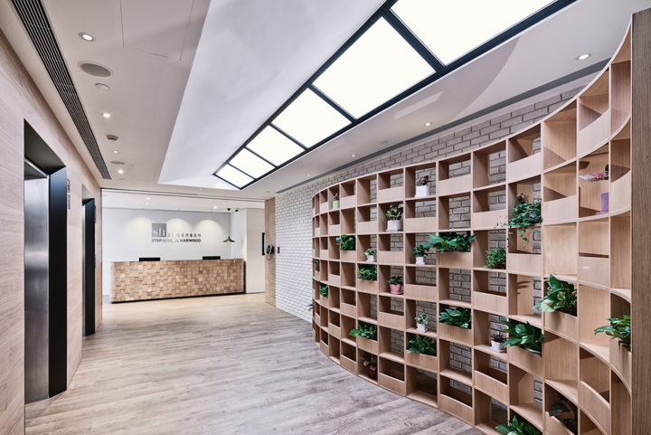 Stephenson Hardwood Headquarter Office By Spatial Concept