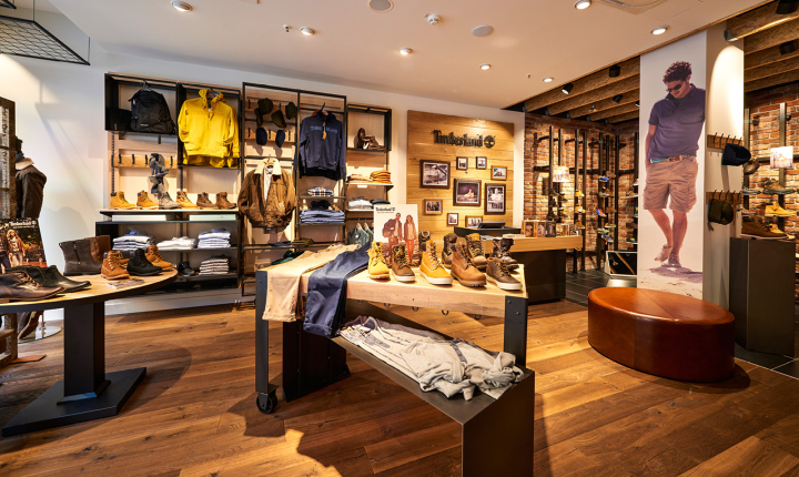 100% aito Uutuudet paras Timberland store by ARNO, Sulzbach – Germany