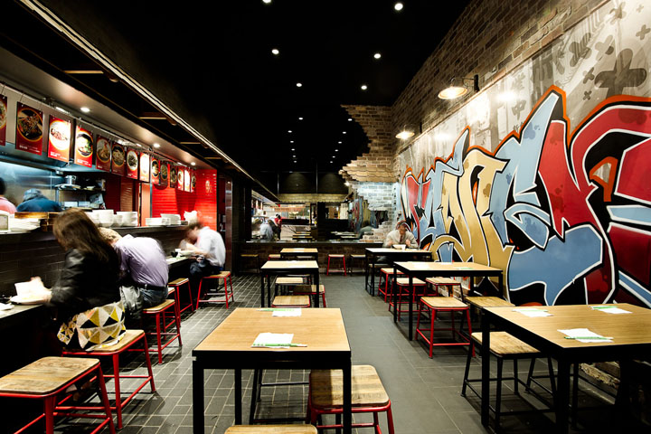 187 Tokyo Ramen By Mima Design Sydney Australia