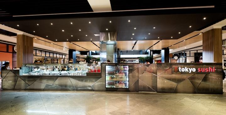 Tokyo sushi by mima design sydney autralia retail for Design hotel osaka