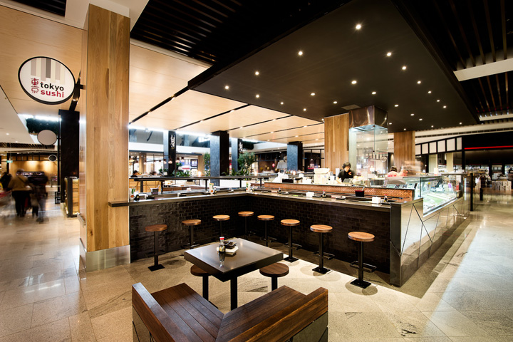Tokyo sushi by mima design sydney australia retail