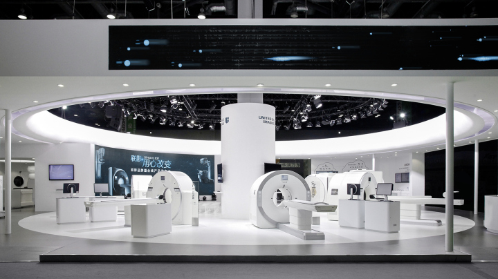 Exhibition Stand Medical : United imaging healthcare at beijing international medical