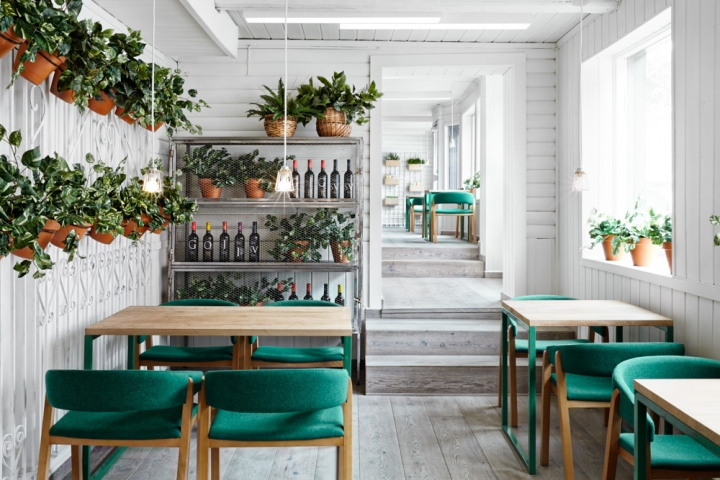 Finished Their Last International Project In The Norwegian Capital Oslo Consists Branding And Interior Design From Vino Veritas