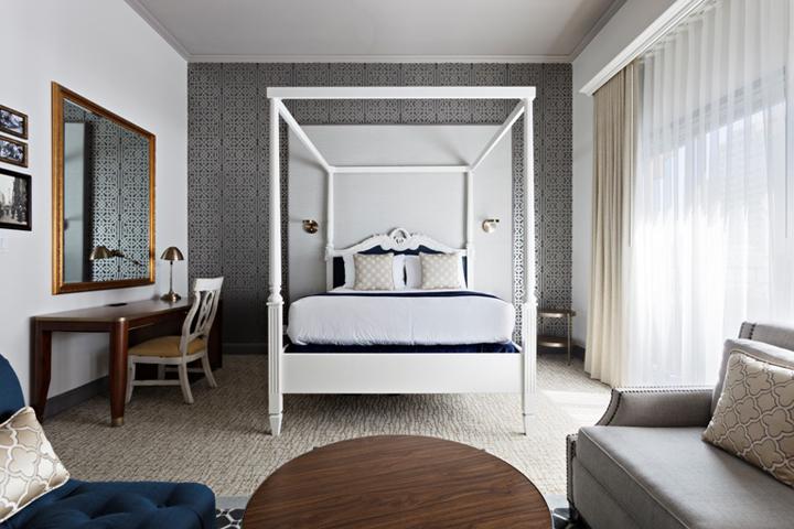 Warwick hotel by uxus san francisco us retail design blog for Design hotel san francisco
