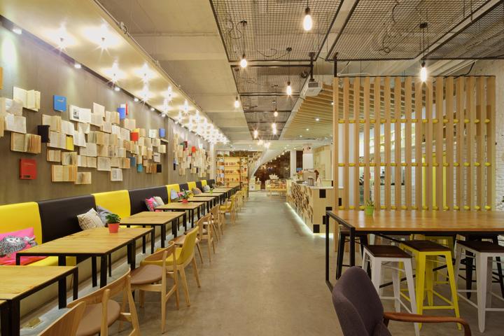 Bookstore retail design blog for Mobilia qatar