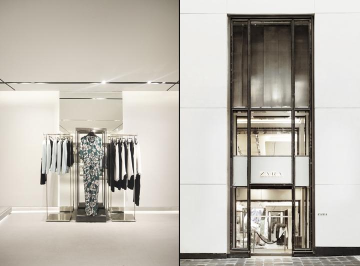 香港zara 时尚服装店设计