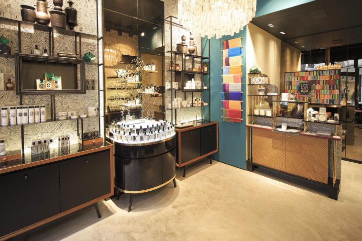 法国巴黎diptyque化妆品店设计