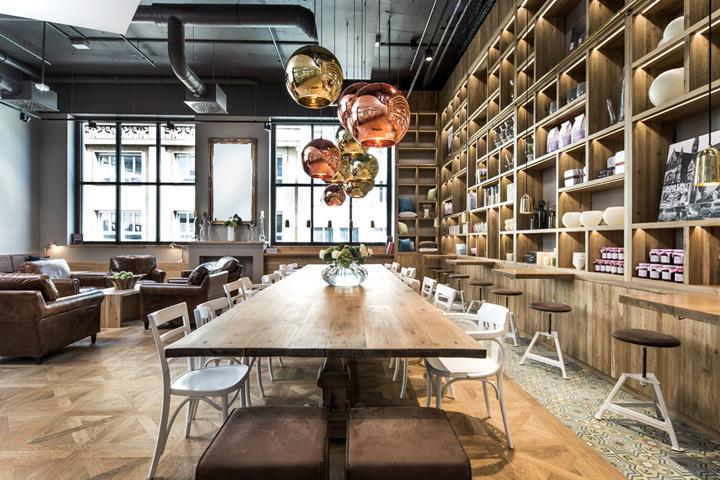 德国斯图加特–pano BROT & KAFFEE咖啡烘焙店设计
