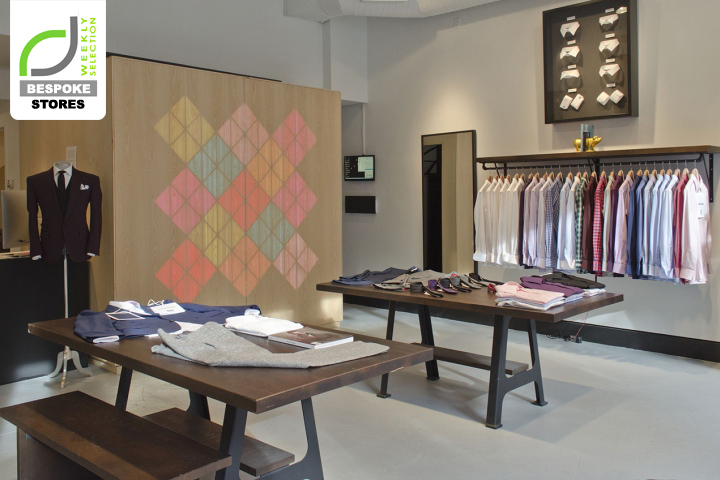 BESPOKE STORES Acustom Apparel Store New York City