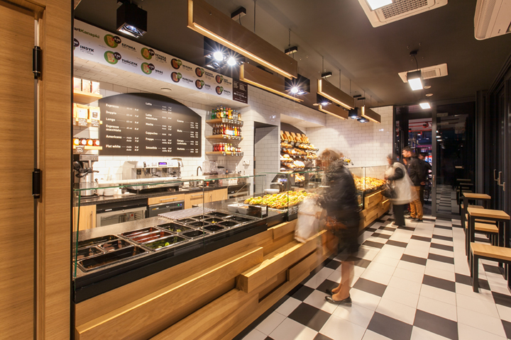 波兰bartkowscy面包店设计