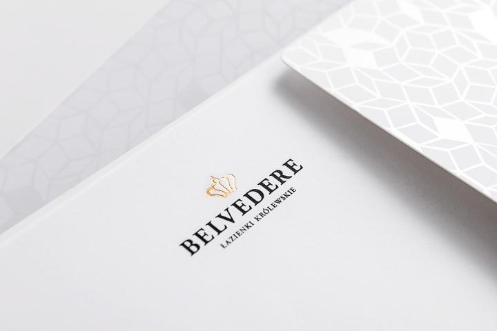Belvedere Restaurant branding by Lange Lange Belvedere Restaurant branding by Lange & Lange