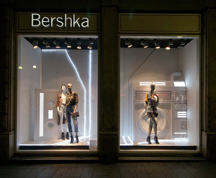187 Bershka Fashion Week Windows 2014 Milan Italy