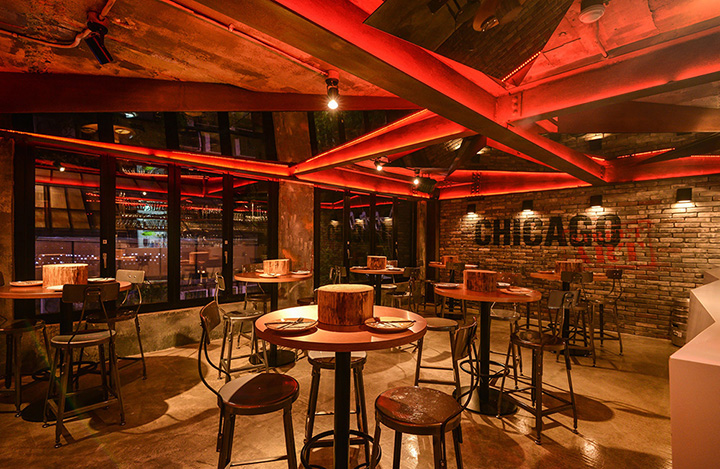 Audi Los Angeles >> » Chicago pizzeria by Gong-Sang Planet, Korea