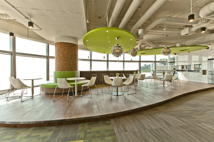 Cyberport smart space office by axis design hong kong retail design blog - Air china hong kong office ...