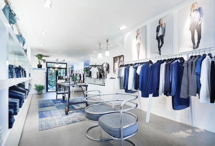 荷兰阿姆斯特丹Denim Bar牛仔裤专卖店设计