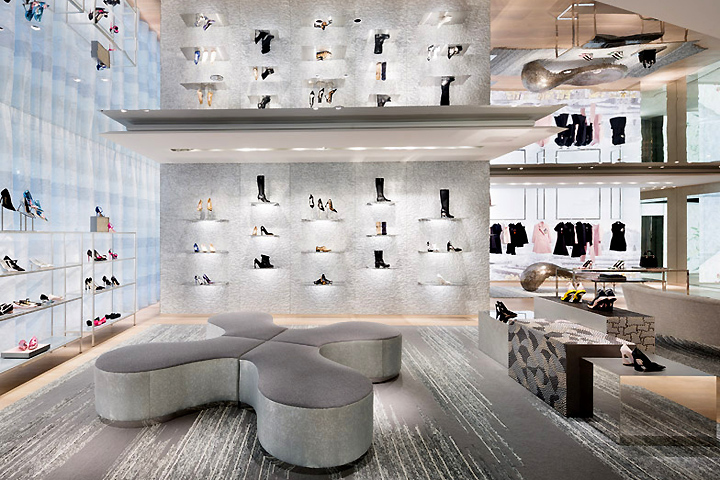 flagship store by peter marino tokyo japan retail design blog