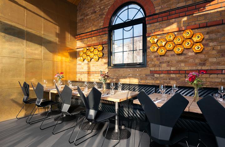 英国伦敦码头厨房餐厅设计